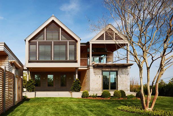 Трехэтажный дом с бассейном. Проект Berg Design Architecture