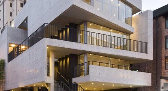 Коммерческий комплекс по проекту L'eau Design