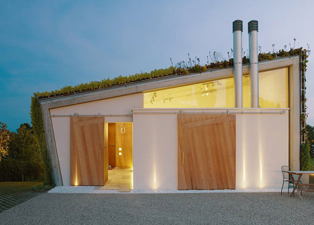 Эко-коттедж на берегу Женевского озера от Design Paradigms