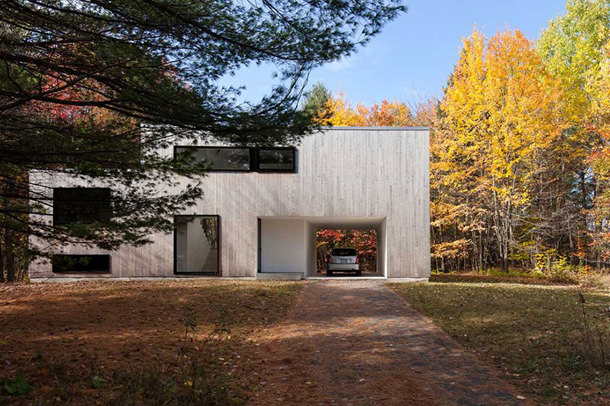 Минималистичный дом в Монреале от La SHED Architecture | инфо