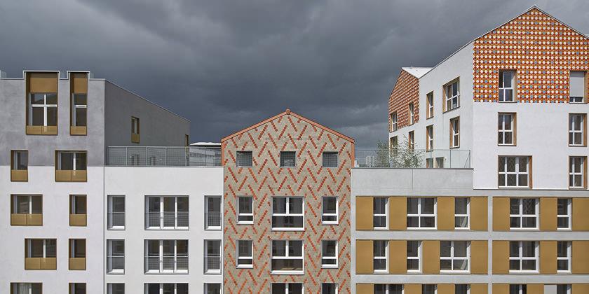 Новые жилые кварталы в городе Понтуаз. Проект PLAN.01 | фото