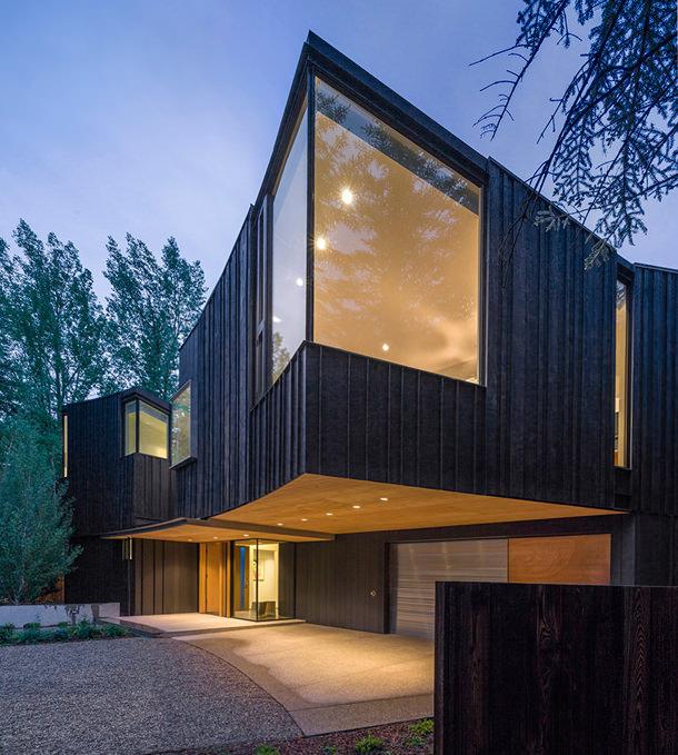 Загородный дом в горах от Will Bruder Architects | фото, инфо
