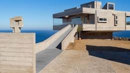 Дом на скале с видом на Тихий океан в Чили | фото
