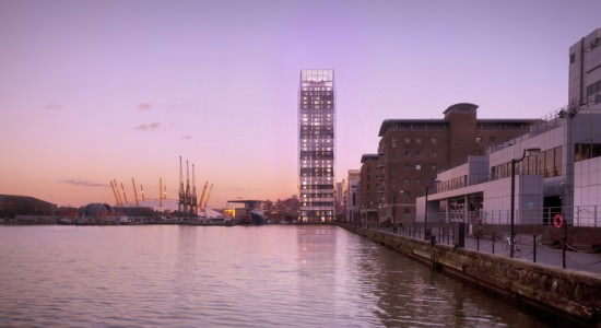 Небоскреб Dollar Bay от SimpsonHaugh and Partners в Лондоне