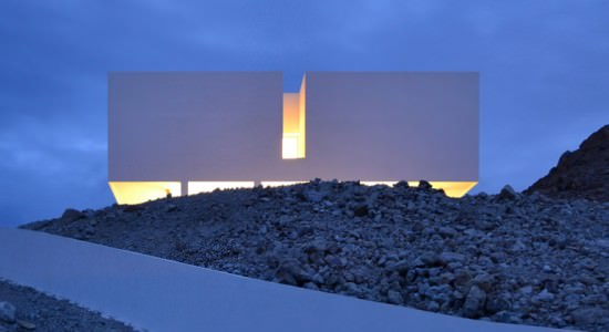 Монолитный коттедж с видом на море в Испании | фото, проект