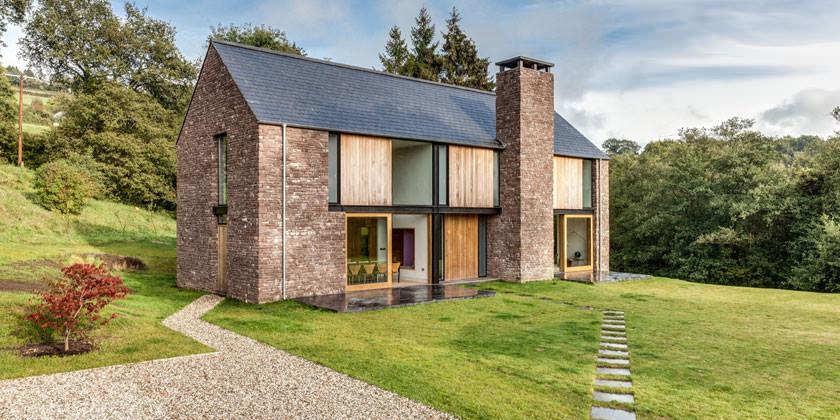 Загородный дом от Hall + Bednarczyk