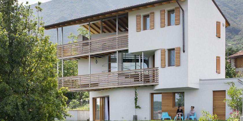 Дом с бассейном в Италии. Проект Elasticospa + 3 | фото, инфо