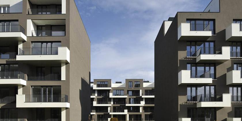 Новый жилой квартал в Любляне от MultiPlan Arhitekti | инфо