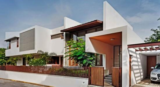 Современный дом в Индии. Проект Khosla Associates | фото