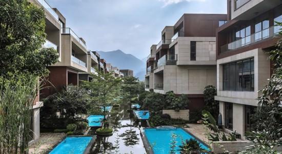 Жилой квартал с бассейном от NEXT Architects | проект, фото