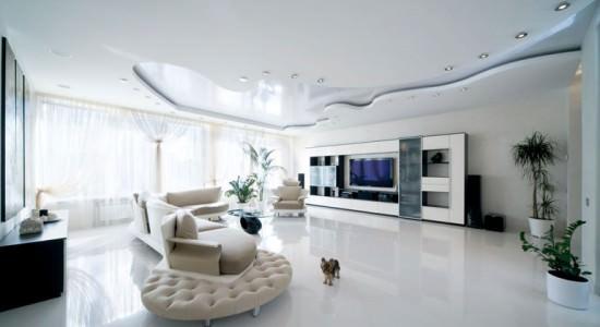 Компания Luxury: тканевые натяжные потолки с установкой