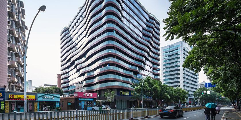 NEXT Architects построила новый ЖК в Фучжоу, Китай | инфо