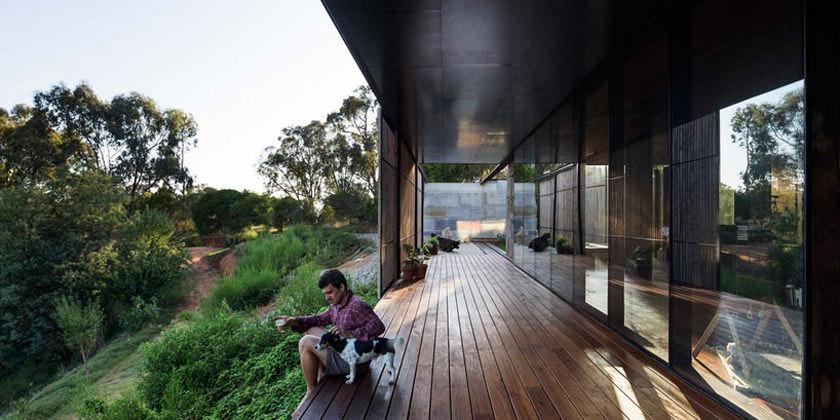 Загородный дом в Австралии от студии Archier | инфо, проект