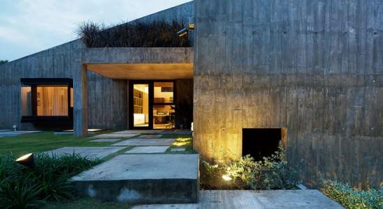 Загородное бунгало в Сингапуре от Ipli Architects | инфо