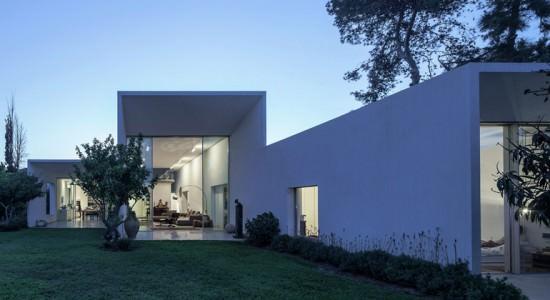 Современный дом в Тель-Авиве T/A House | инфо, проект, фото