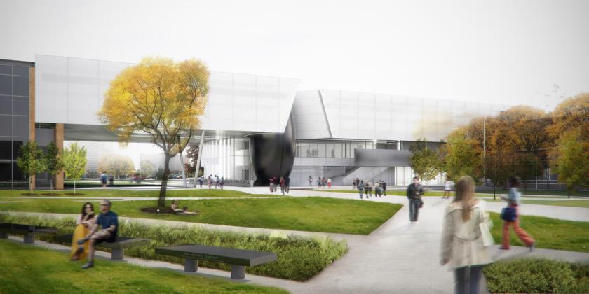 Детройтский технический университет переедет в новый кампус