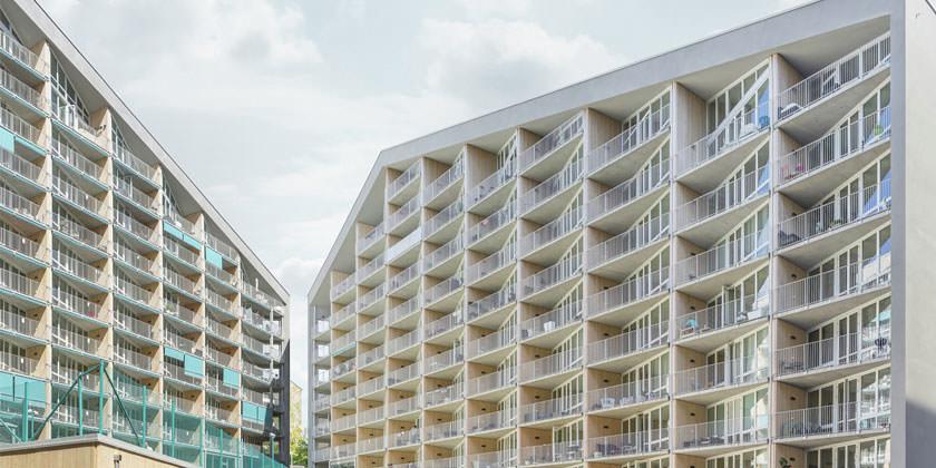 Большой жилой комплекс в Стокгольме. Проект Joliark | фото