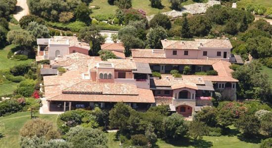 Villa Certosa на острове Сардиния