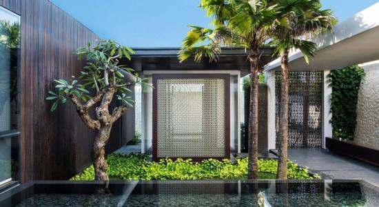 Вилла на Бали с видом на океан от Parametr Architecture