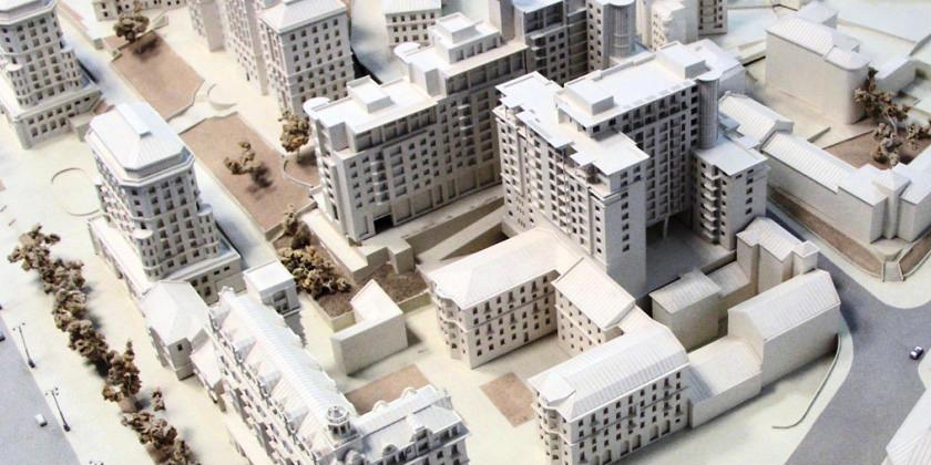 Макетная мастерская «Студия Модель»: архитектурные проекты