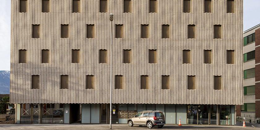 Жилой комплекс в Швейцарии. Проект Buzzi Architetti | фото