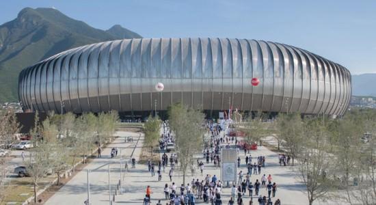 Стадион Estadio BBVA Bancomer в Монтеррее от Populous