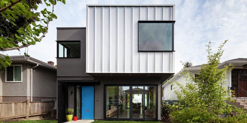 Контейнерный дом от Measured Architecture | фото, проект