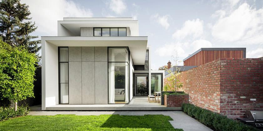 В Mitsuori Architects расширили дом в викторианском стиле