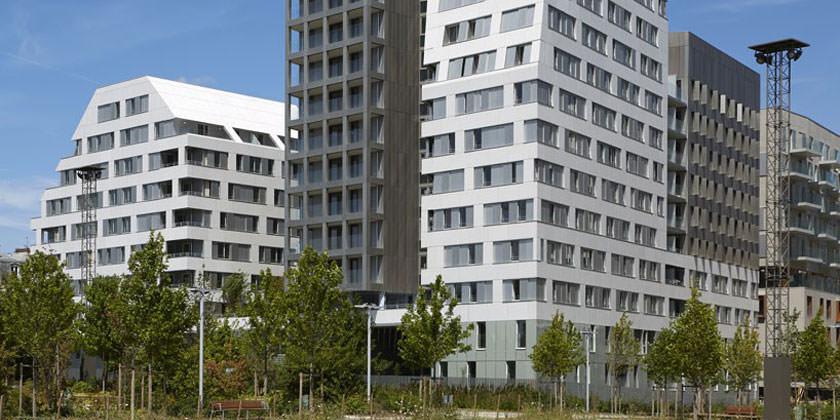 Новый Жилой комплекс Macrolot E10 в Париже | фото, проект