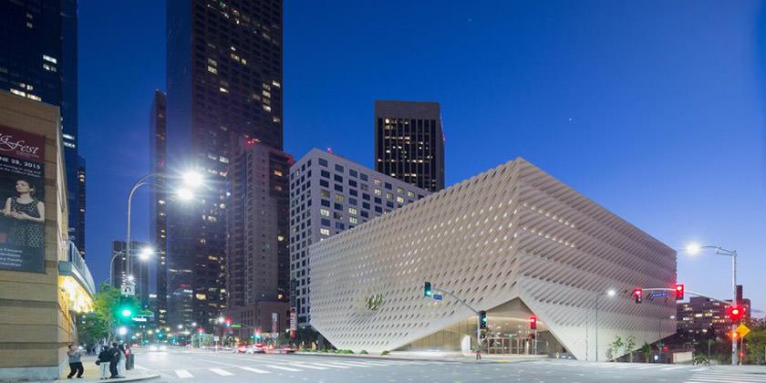 Музей современного искусства Броуд в Лос-Анджелесе от Diller Scofidio + Renfro