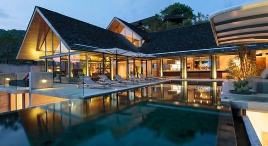 Вилла на берегу моря в Таиланде от Original Vision | фото