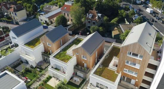 Новый микрорайон в Нантере от Atelier du Pont