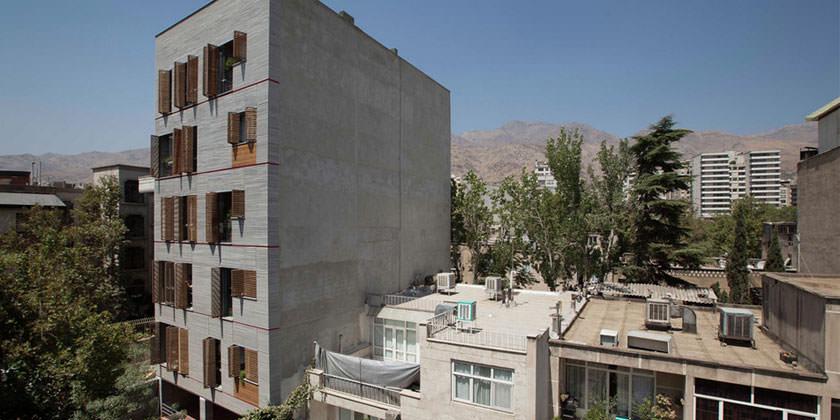 Жилой комплекс в Тегеране от Ayeneh Office