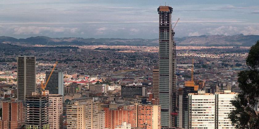 Небоскреб BD Bacatá в Колумбии