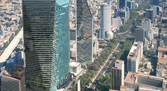 Проект небоскреба Chapultepec Uno в Мехико