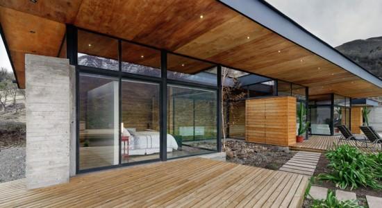 Загородный дом в Чили от Bedodostudio