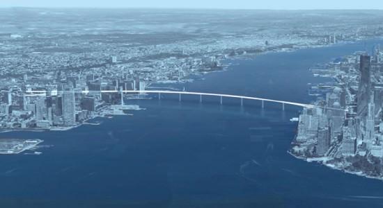 Проект пешеходного моста Liberty Bridge от Кевина Швейна и Джеффа Джордана