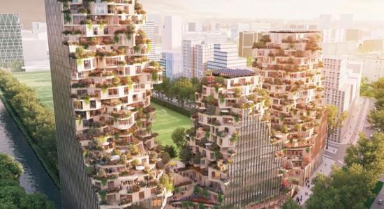 Проект комплекса Ravel Plaza для Амстердама от MVRDV