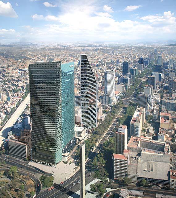 Фото | Самый высокий небоскреб Мексики Chapultepec Uno