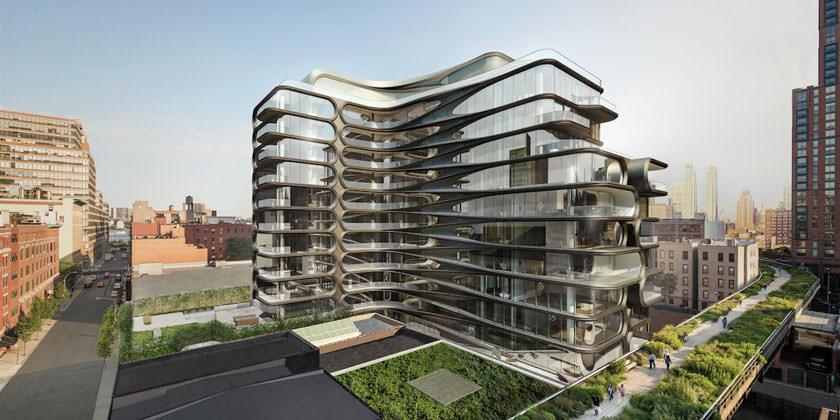 Жилой комплекс Захи Хадид построят на Манхэттене | фото