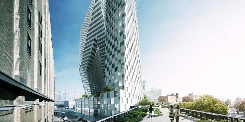 Проект штаб-квартиры для New York Yimby на Манхэттене от BIG