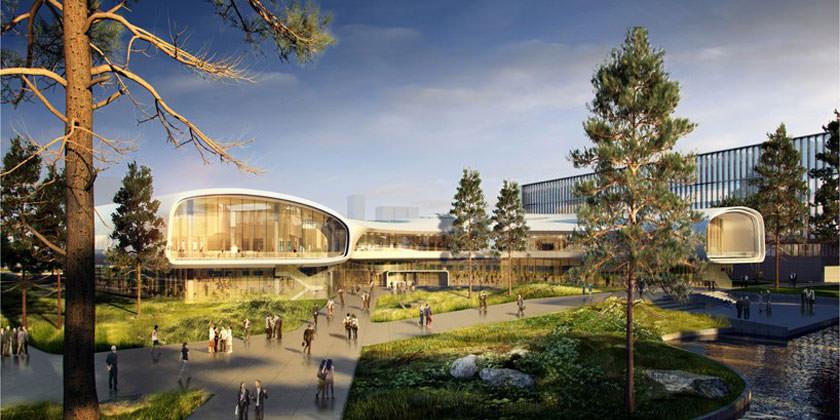 Huawei построит исследовательский центр по проекту Ennead Architects