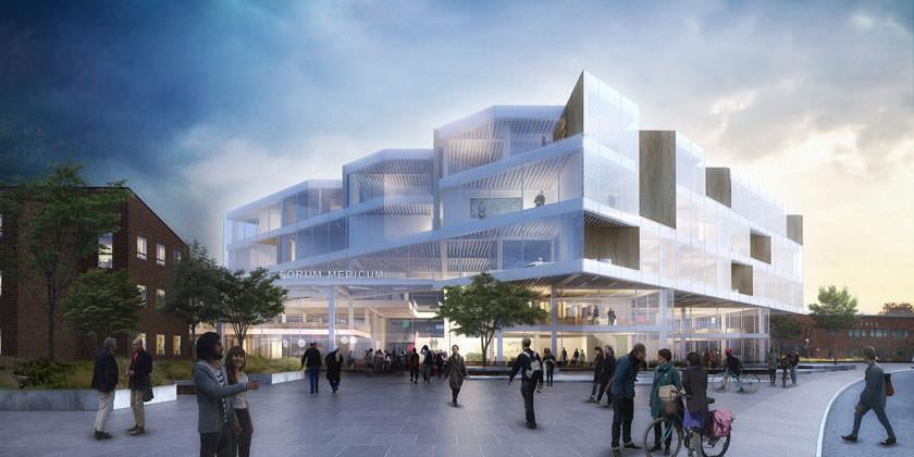 Проект нового кампуса для Лундского университета в Швеции от Henning Larsen Architects