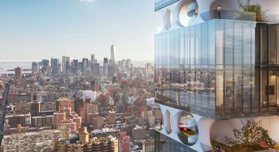 Концепт жилого небоскреба от ODA architecture