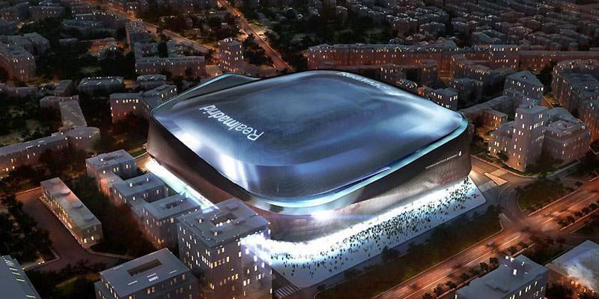 Проект обновления домашнего стадиона ФК «Реал Мадрид» от GMP