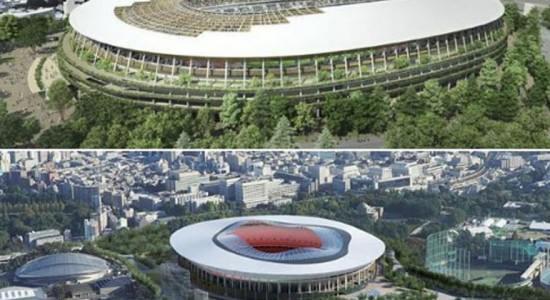 Проекти стадионов «A» и «B» в Токио