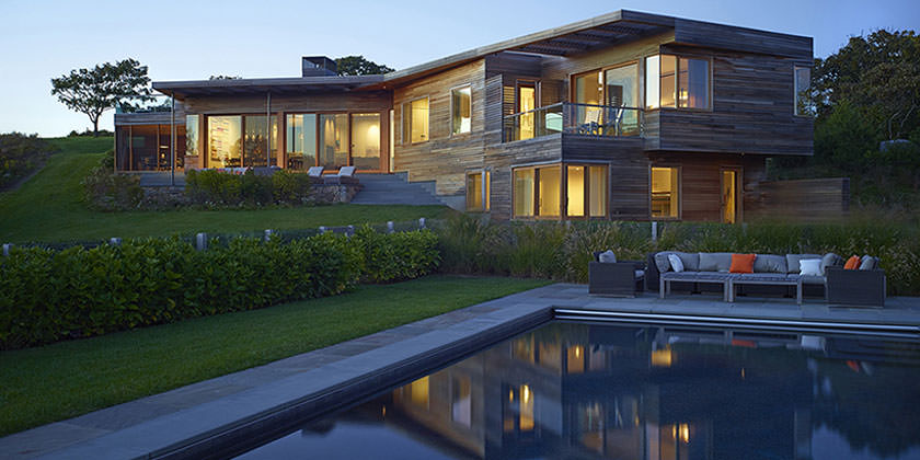 Коттедж в Чилмарке от Charles Rose Architects