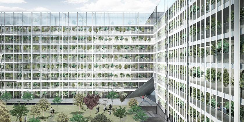 Проект жилого комплекса Hamburg Hybrid Housing в Гамбурге от Ctrl-Space
