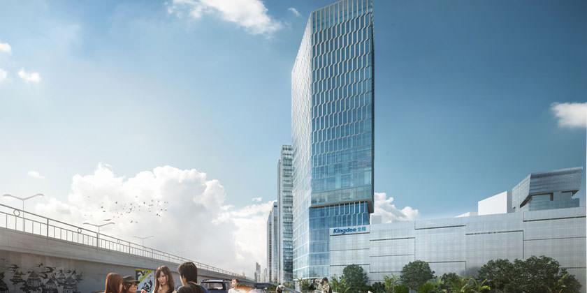 Студия HENN построит в Китае башню Kingdee Tower