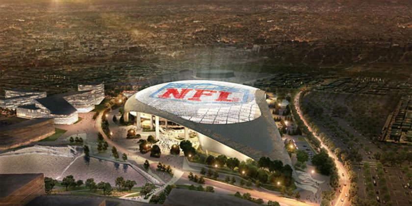 Новый стадион NFL в Лос-Анджелесе от HKS Architects
